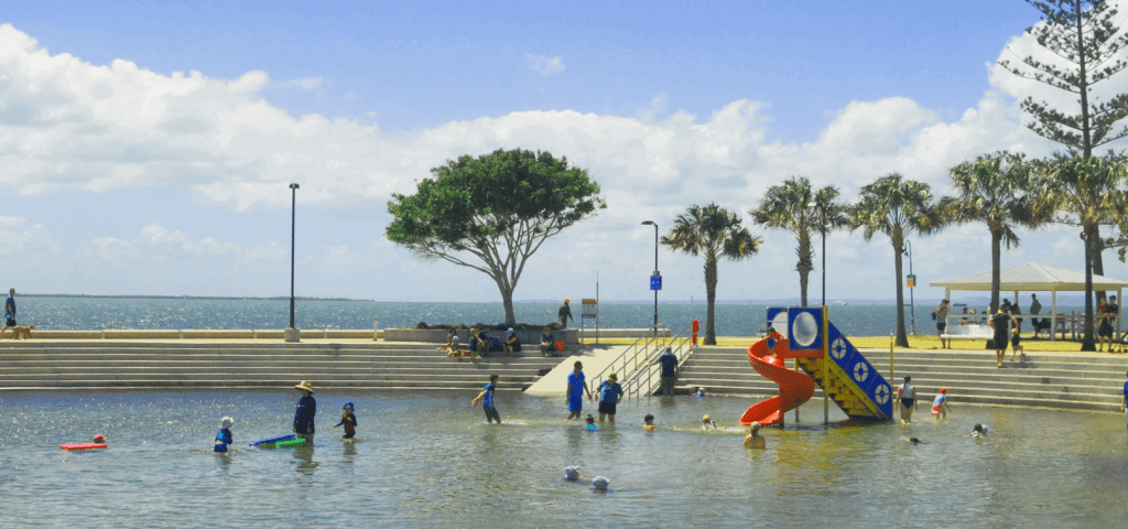 FREE QLD School Holiday - Wynnum Wading Pool