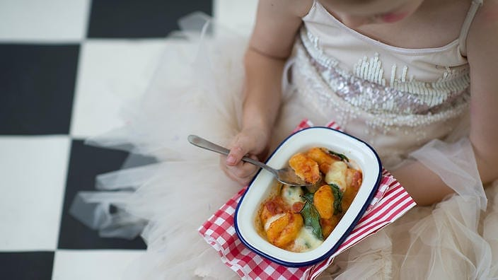 Kid friendly pumpkin gnocchi recipe
