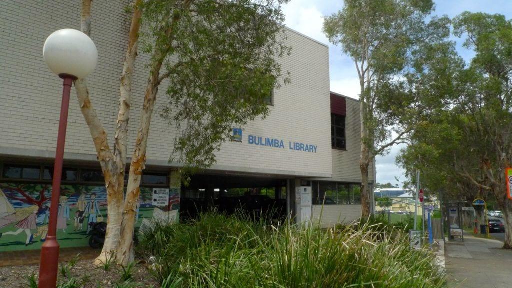 The facade of Bulimba Library
