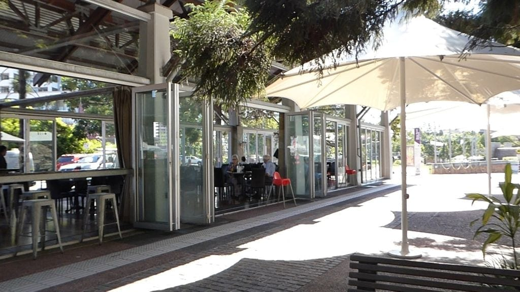 Roma Street parkland Cafe
