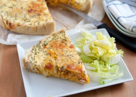 Pumpkin Quiche Recipe for Diabetics
