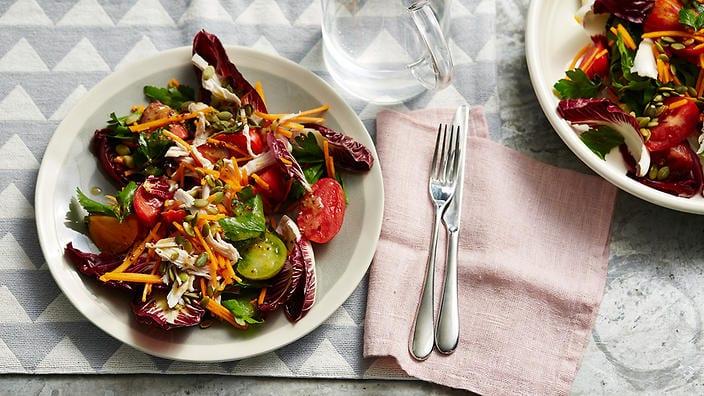 Pumpkin salad recipes