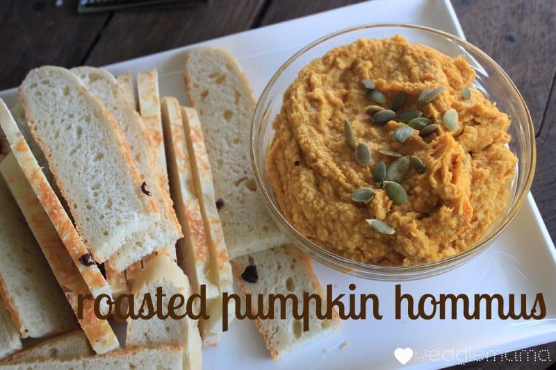 roast pumpkin hommus recipe