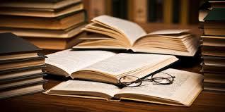 Open books at Corinda Library