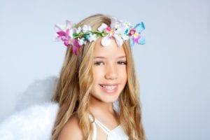 Make a floral hair piece