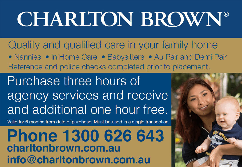 Charlton Brown Voucher, valid for 6 months from date of purchase.