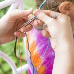 DIY School Holiday Hair Wrap
