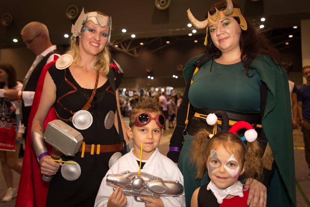 Oz Comic Con for Families Brisbane