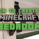 minecraft bedroom design