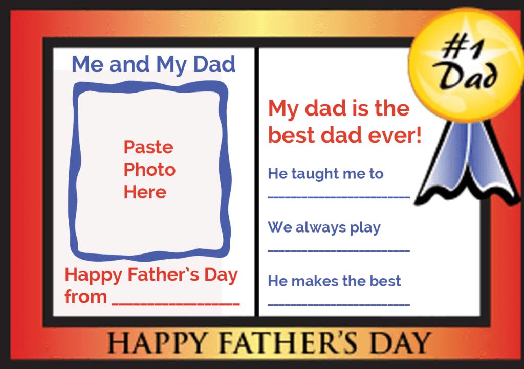 father u0027s day card families magazine