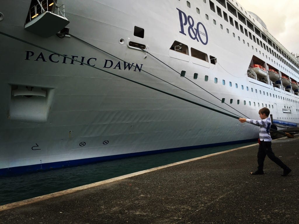 Pull the ship in to dock - cool cruise photos