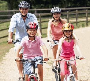 Family Bike Ride Fathers Day Brisbane