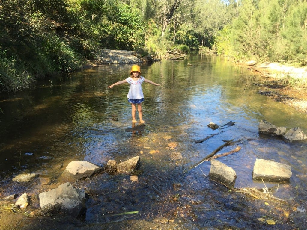 Bunya Crossing Reserve Swimming Hole for toddlers- Brisbane
