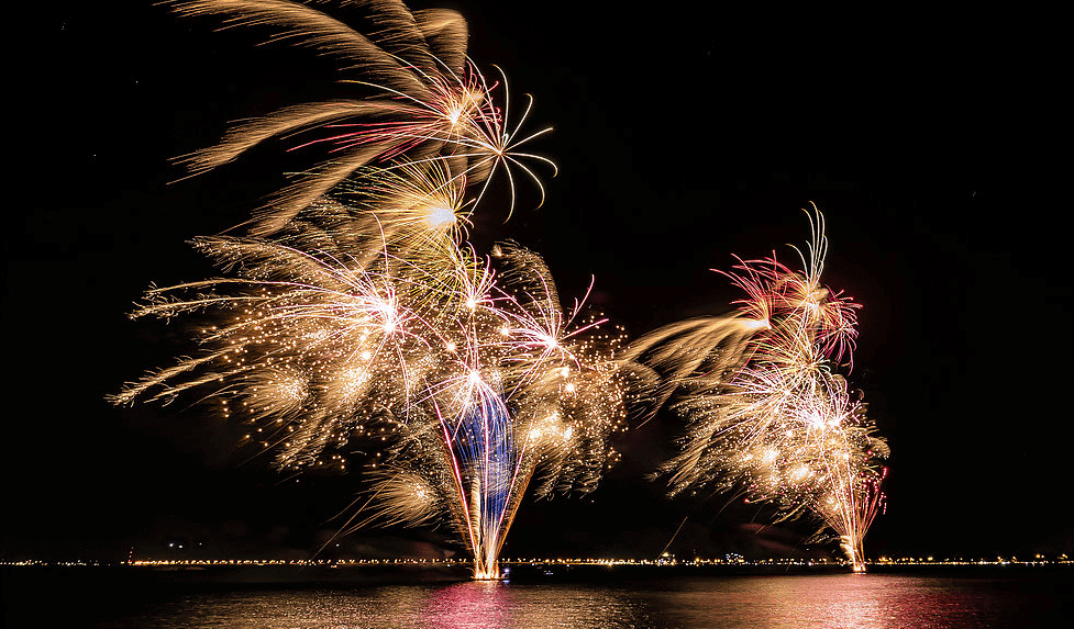 new years eve foreshore fireworks