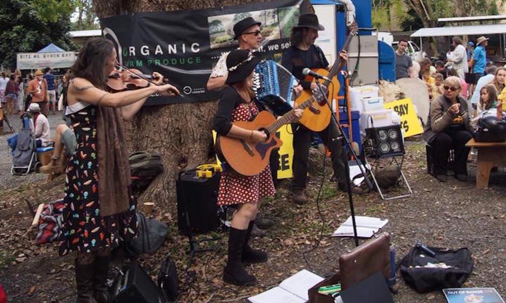 Bangalow Markets Live Music
