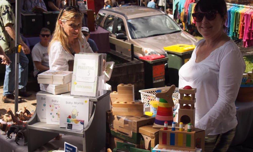 Bangalow Markets Market Stand