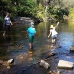 Bunya Crossing Reserve Swimming Hole for Kids and Families Brisbane