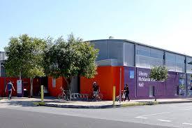 The facade of Inala Library