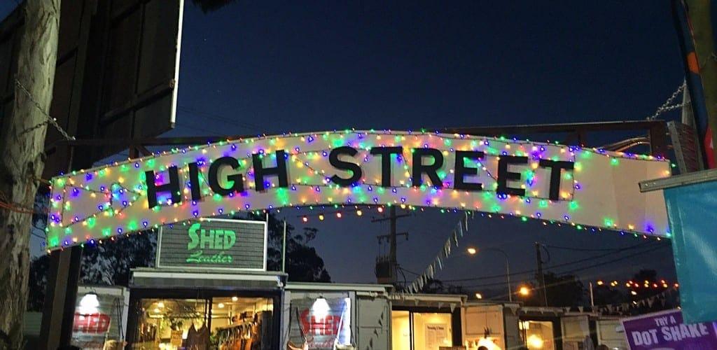 High Street at NightQuarter