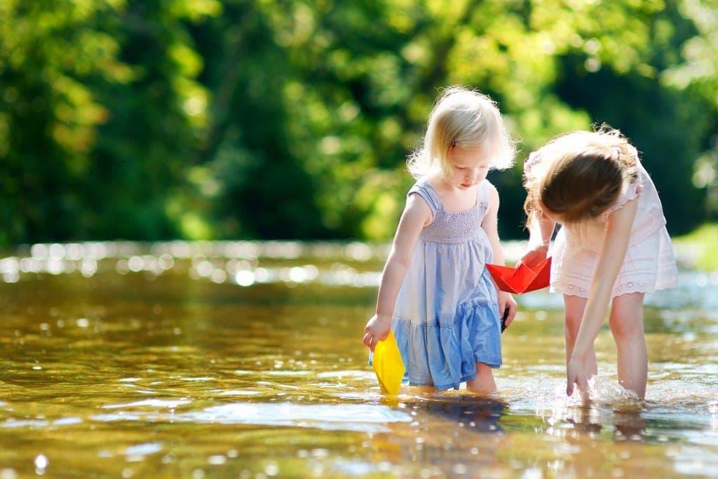 Toowoomba rivers and creeks with kids