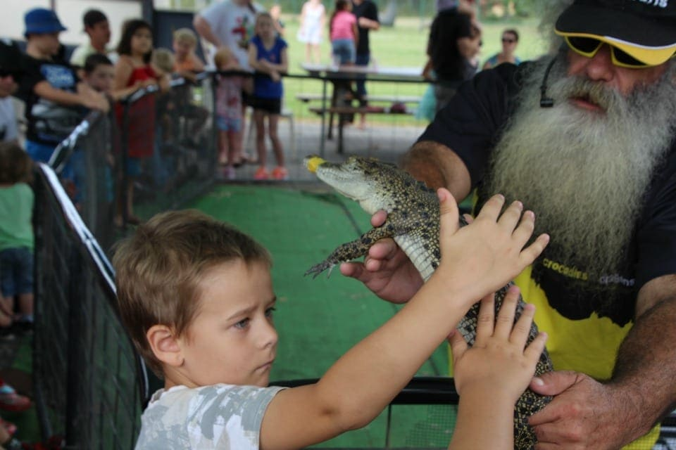 Kids spoiled for choice at The Bearded Dragon -- Furry