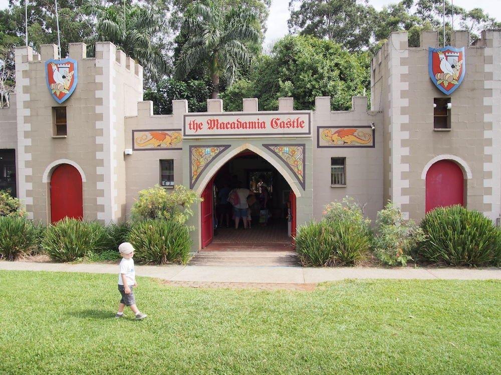 Macadamia Castle entrance