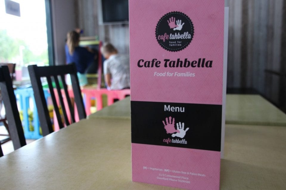 Child-friendly cafe on the northern Gold Coast – Tahbella in Oxenford