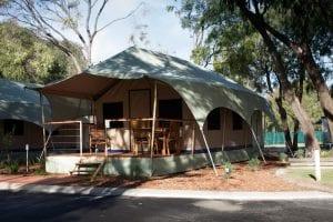Green Mountains campground safari tents