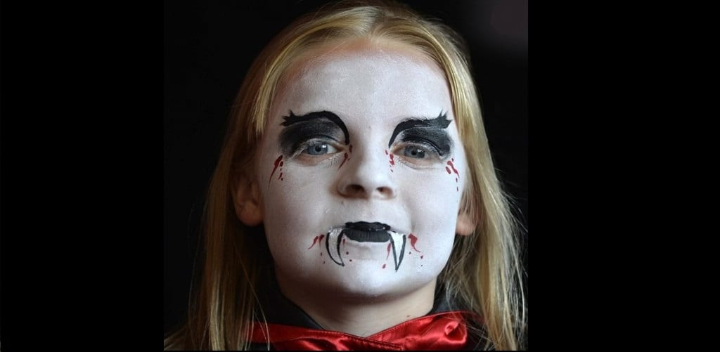 Halloween make up tutorial 4