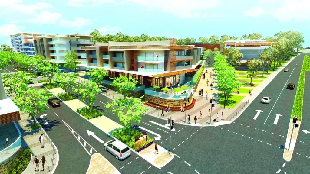 Carseldine Urban Village for families
