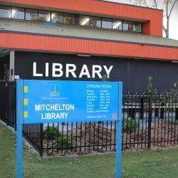 the-facade-of-mitchelton-library