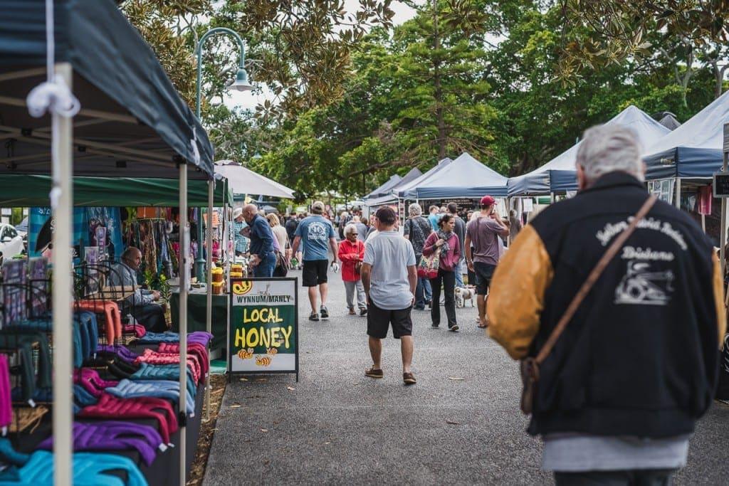 Wynnum seafood festival markets