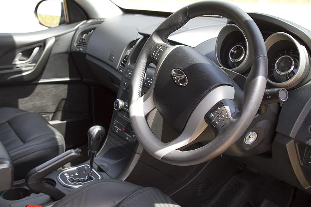 Mahindra XUV500Review image of vehicle interior
