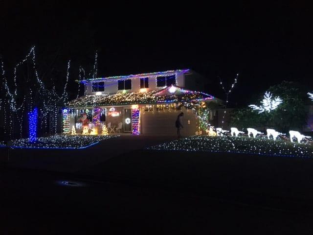 3 Parkwood Place, Bellmere Christmas Lights