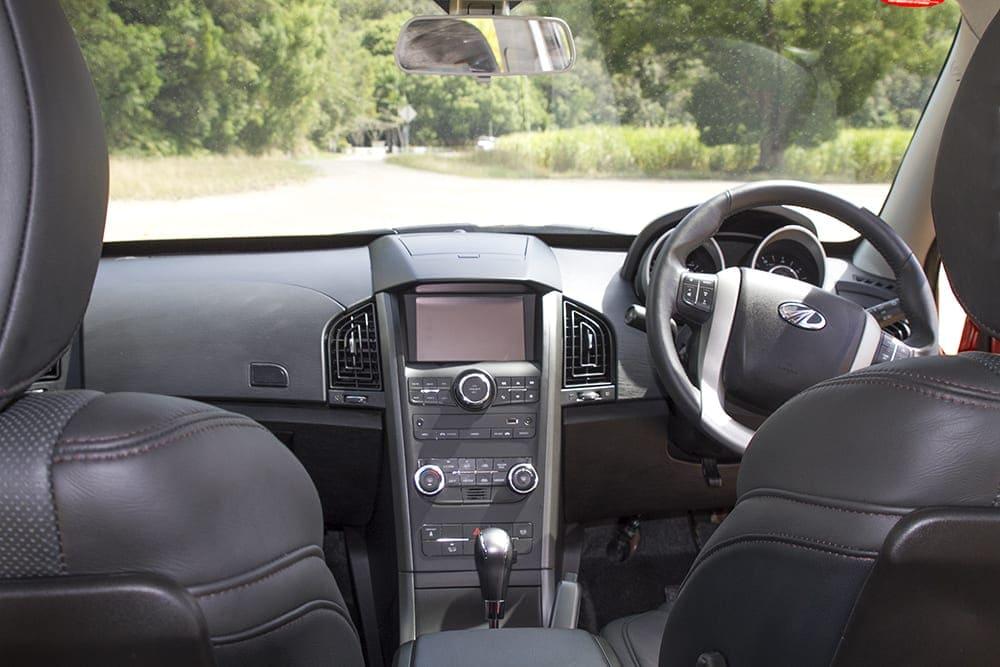 Mahindra XUV500 Review image of vehicle interior