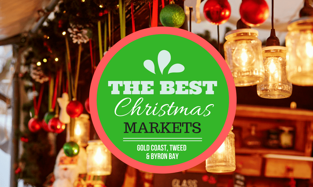 Christmas Markets Gold Coast to Byron Bay 2016 Christmas market stand with baubles