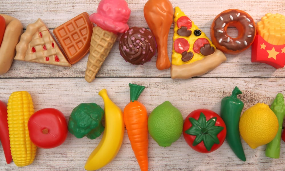Food Allergy Plastic Fruits and Veg