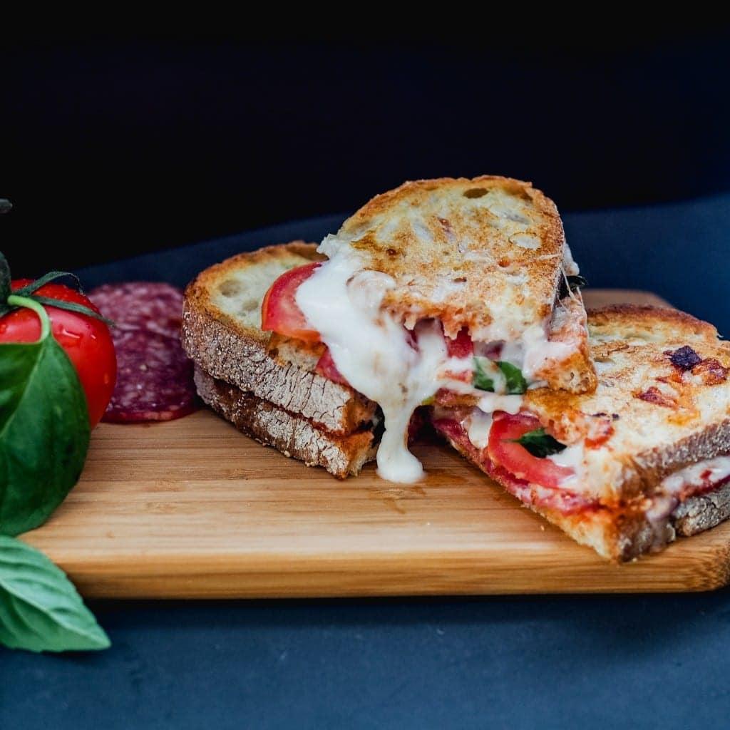 Snacks that won't ruin dinner Ultimate Pizza Toastie