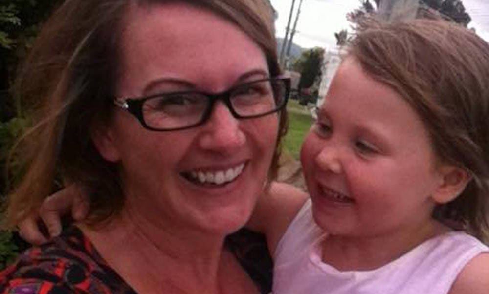 body acceptance - happy mum with daughter