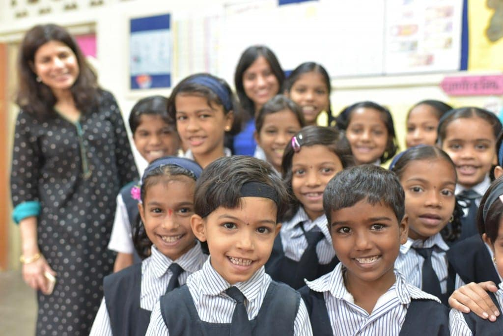 featured image, mahindra is supporting young Indian girls access to education.