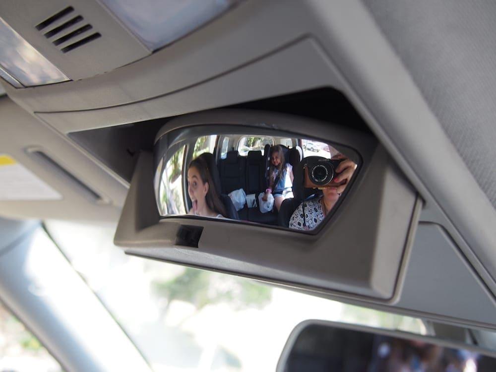 Mahindra XUV500 Review image of conversation mirror