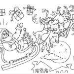 santa-reindeers-colouring-in