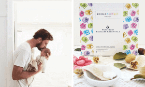 Win one of FIVE Edible Bubba Pure Baby Skincare Essentials Packs