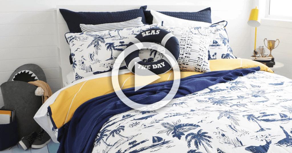 Pillow Talk - Makeover a Kids Room