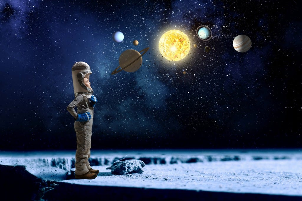 ideas for outer space for kids in Brisbane