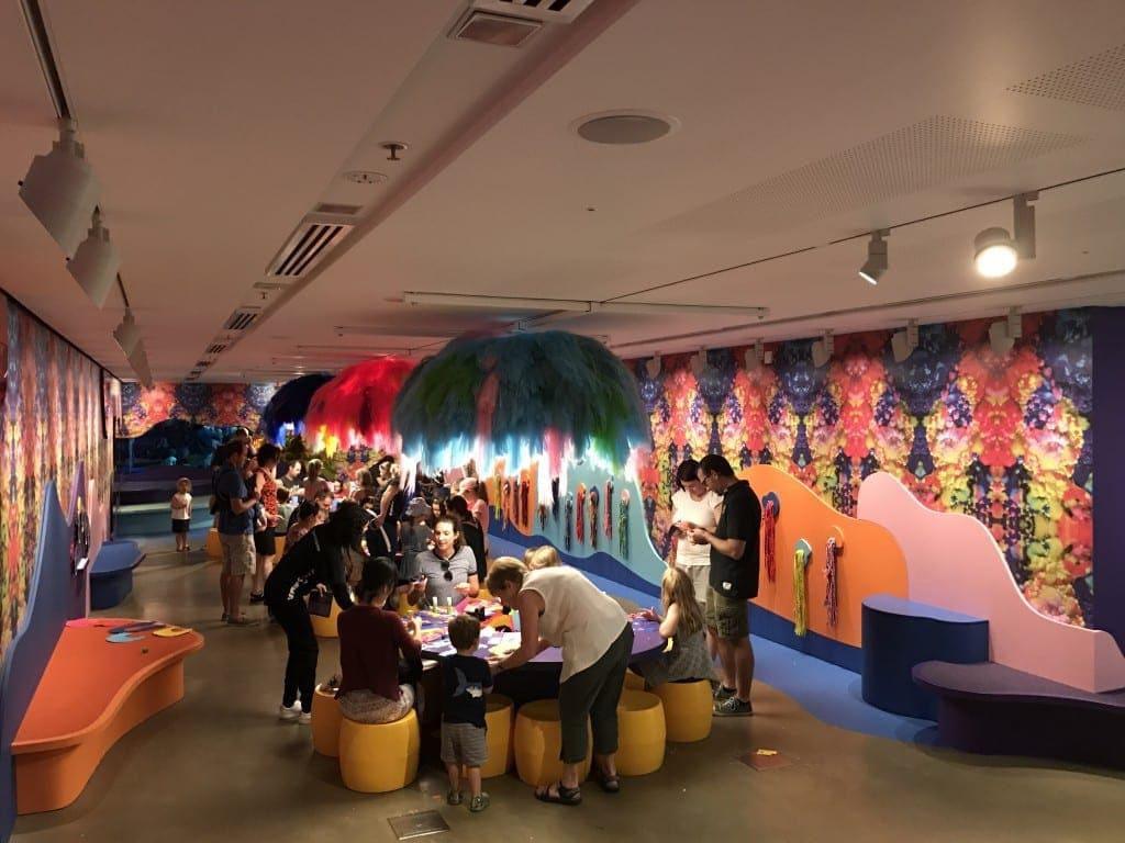 GOMA for Brisbane Kids - children's art activities