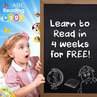 ABC Reading Eggs 4 week trial