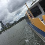 Brisbane CityCat with Kids