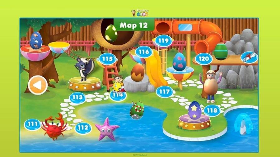 ABC Reading Eggs maps