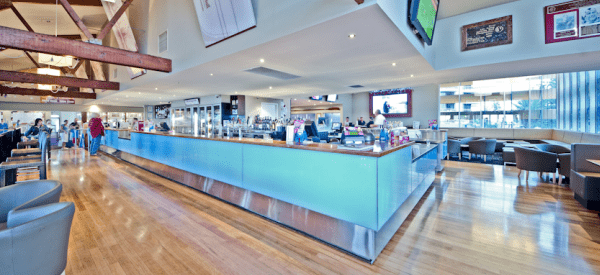 Family Friendly Surf Clubs on the Gold COast BMD Northcliffe picture of bar inside club